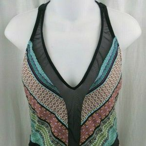 Bleu Rod Beattie One-Piece Swimsuit Size 10 NWT